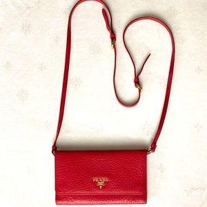 NWOB Prada Vitello Grained Leather Wallet